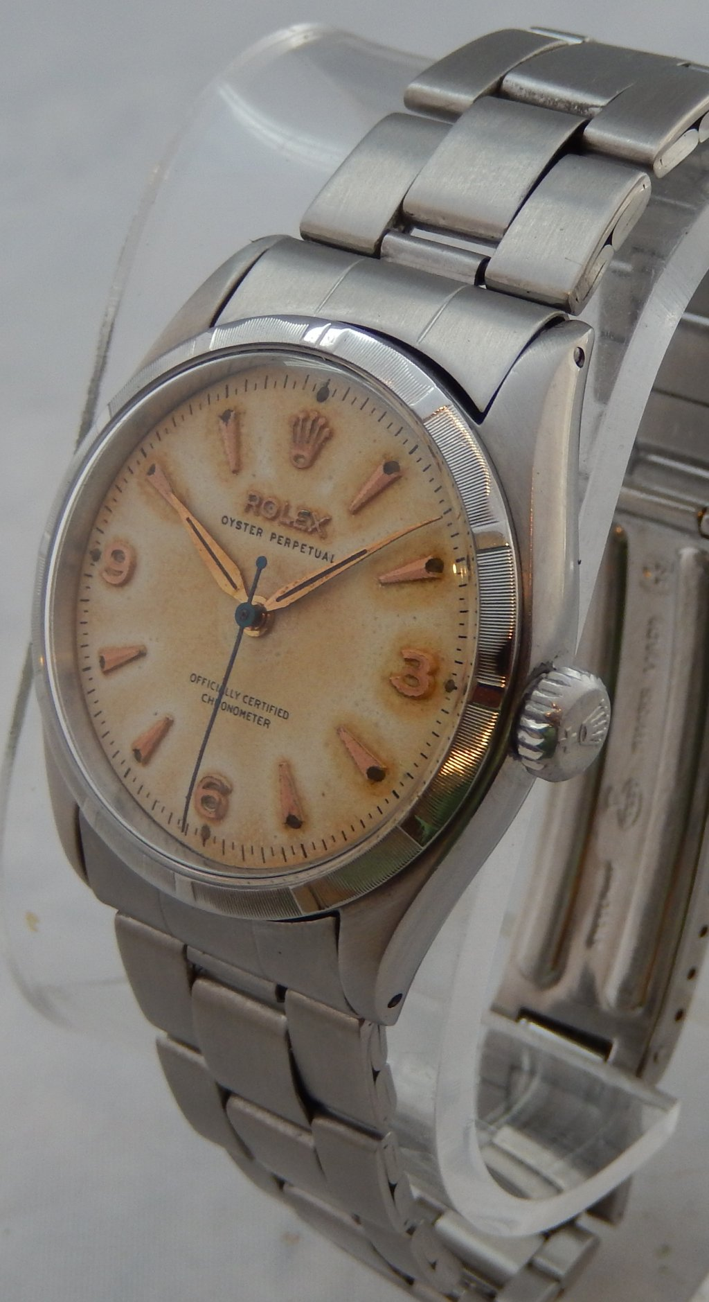 watch watches rolex tudor early steel oyster very vintage