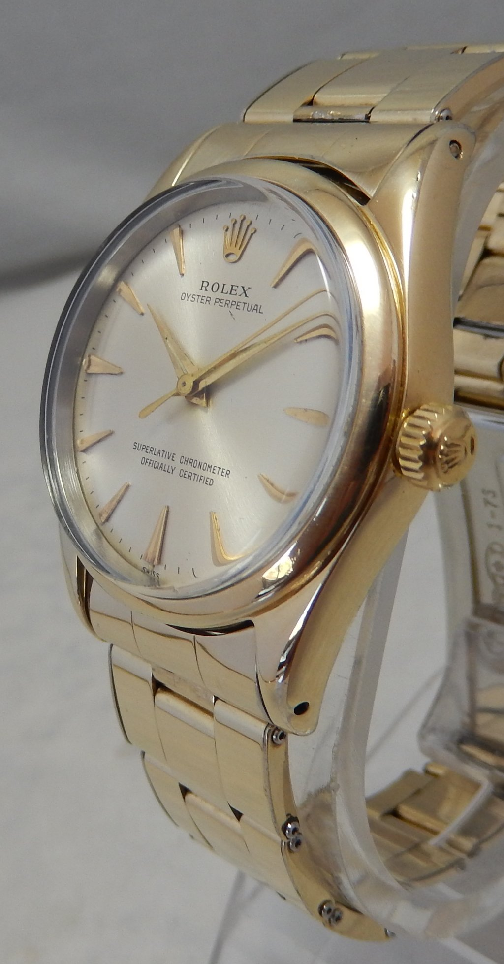 Details about Rolex Oyster Perpetual Gold Capped Model 1014 Mens Watch All  Original 1960s