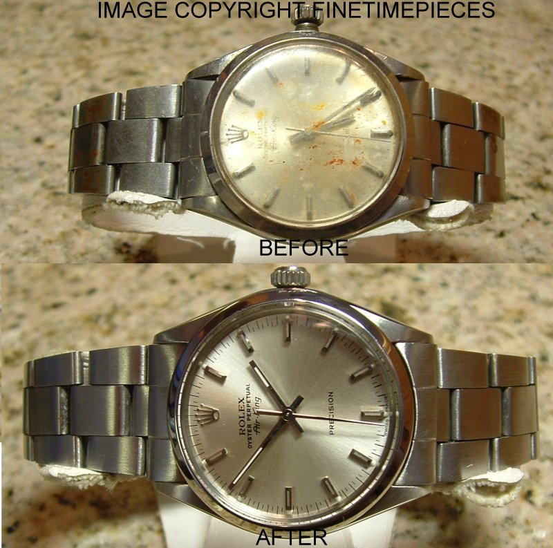 Details about ROLEX WATCH MOVEMENT SERVICE CLEANING POLISHING RESTORATION